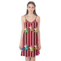 Star Christmas Greeting Camis Nightgown