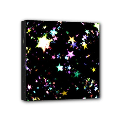 Star Ball About Pile Christmas Mini Canvas 4  x 4