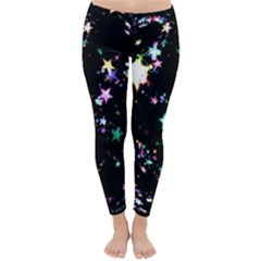 Star Ball About Pile Christmas Classic Winter Leggings