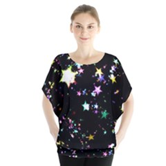 Star Ball About Pile Christmas Blouse