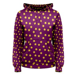 Star Christmas Red Yellow Women s Pullover Hoodie