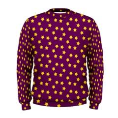 Star Christmas Red Yellow Men s Sweatshirt