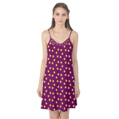 Star Christmas Red Yellow Camis Nightgown