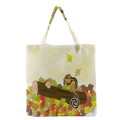 Squirrel Grocery Tote Bag