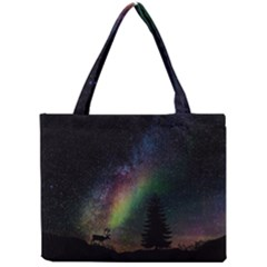 Starry Sky Galaxy Star Milky Way Mini Tote Bag