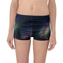 Starry Sky Galaxy Star Milky Way Boyleg Bikini Bottoms
