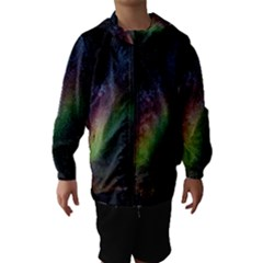 Starry Sky Galaxy Star Milky Way Hooded Wind Breaker (Kids)