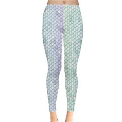 The Background Wallpaper Mosaic Leggings