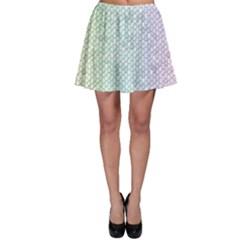 The Background Wallpaper Mosaic Skater Skirt