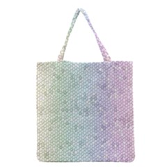 The Background Wallpaper Mosaic Grocery Tote Bag
