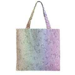 The Background Wallpaper Mosaic Zipper Grocery Tote Bag