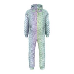 The Background Wallpaper Mosaic Hooded Jumpsuit (Kids)
