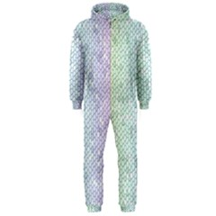 The Background Wallpaper Mosaic Hooded Jumpsuit (Men)