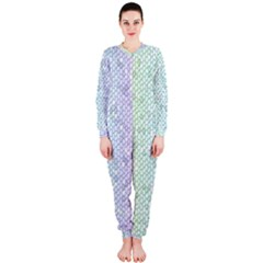 The Background Wallpaper Mosaic Onepiece Jumpsuit (ladies)