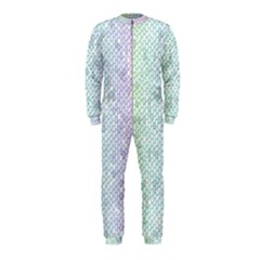 The Background Wallpaper Mosaic OnePiece Jumpsuit (Kids)