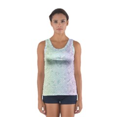 The Background Wallpaper Mosaic Women s Sport Tank Top