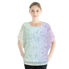 The Background Wallpaper Mosaic Blouse