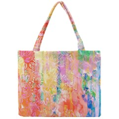 Watercolour Watercolor Paint Ink  Mini Tote Bag