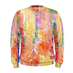 Watercolour Watercolor Paint Ink  Men s Sweatshirt