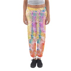 Watercolour Watercolor Paint Ink  Women s Jogger Sweatpants