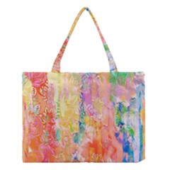Watercolour Watercolor Paint Ink  Medium Tote Bag