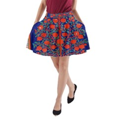 Tree Of Life A-Line Pocket Skirt