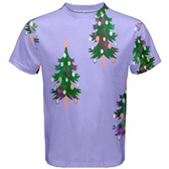 Watercolour Paint Dripping Ink  Men s Cotton Tee