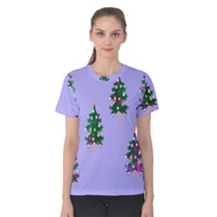 Watercolour Paint Dripping Ink  Women s Cotton Tee