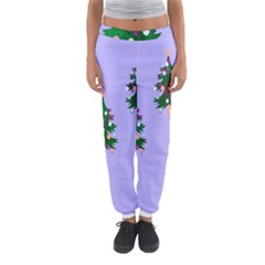 Watercolour Paint Dripping Ink  Women s Jogger Sweatpants