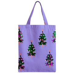 Watercolour Paint Dripping Ink  Zipper Classic Tote Bag