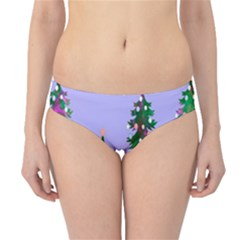 Watercolour Paint Dripping Ink  Hipster Bikini Bottoms