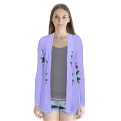 Watercolour Paint Dripping Ink  Cardigans