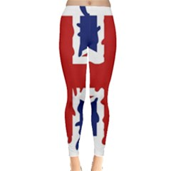Uk Splat Flag Leggings