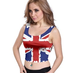 Uk Splat Flag Crop Top