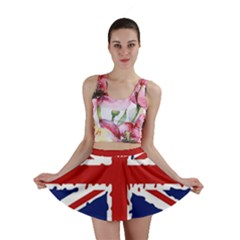 Uk Splat Flag Mini Skirt