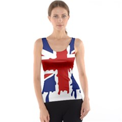 Uk Splat Flag Tank Top