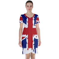 Uk Splat Flag Short Sleeve Nightdress
