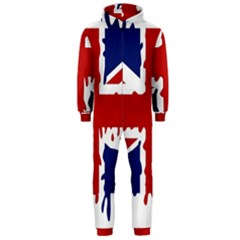 Uk Splat Flag Hooded Jumpsuit (Men)
