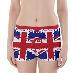 Uk Splat Flag Boyleg Bikini Wrap Bottoms