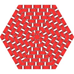 Weave And Knit Pattern Seamless Background Wallpaper Mini Folding Umbrellas