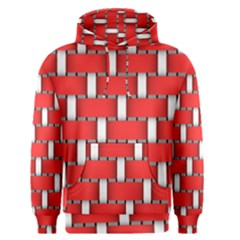 Weave And Knit Pattern Seamless Background Wallpaper Men s Pullover Hoodie