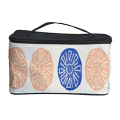 Wheel Circle Red Blue Cosmetic Storage Case