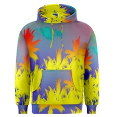 Tropical Cool Coconut Tree Men s Pullover Hoodie