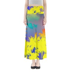 Tropical Cool Coconut Tree Maxi Skirts