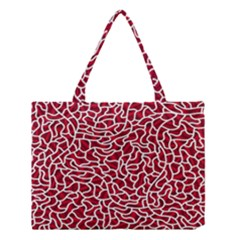 Tangled Thread Red White Medium Tote Bag