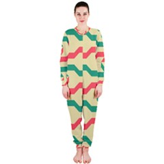 Exturas On Pinterest  Geometric Cutting Seamless OnePiece Jumpsuit (Ladies)