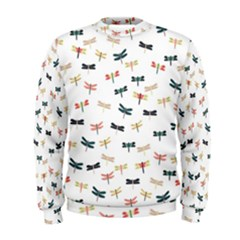Dragonflies Animals Fly Men s Sweatshirt