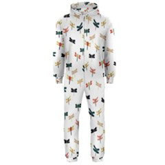 Dragonflies Animals Fly Hooded Jumpsuit (Men)