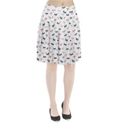 Dragonflies Animals Fly Pleated Skirt