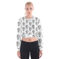 Fish Ikan Piranha Women s Cropped Sweatshirt